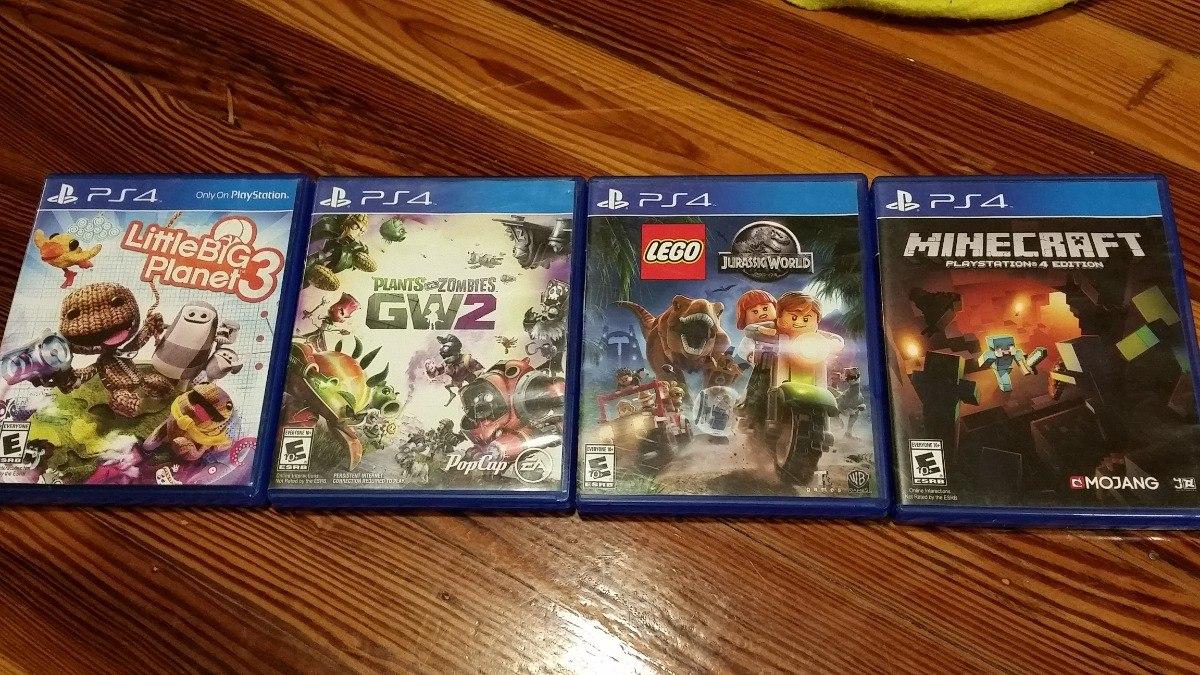Juegos Ps4 Lego Jurassic World 950 00 En Mercado Libre