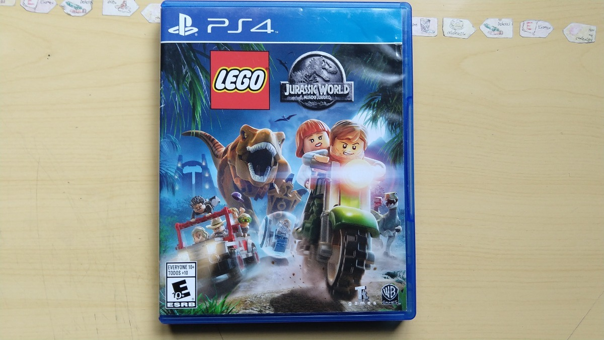 Juegos Ps4 Lego Jurassic World 319 00 En Mercado Libre