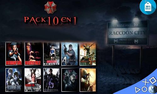 juegos resident evil ps3