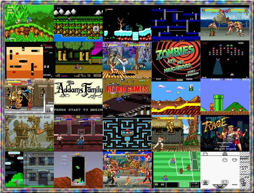Juegos Retros Portable Para Pc Pack 6 Via Email 50 00 En