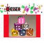( Geraval ) 6 Dados Convencionales Chessex 15 Milímetros