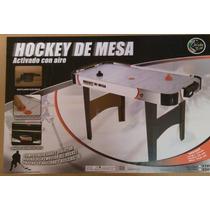 Mesa De Hockey Activada Con Aire Grande - Nueva - 137cms
