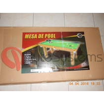 Mesa De Pool Jeidy Toys Modelo Grande ** Oferta **