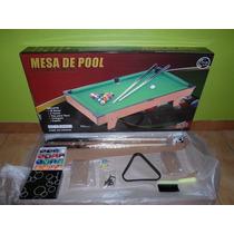 Mesa De Pool Marca Jeidy Toys