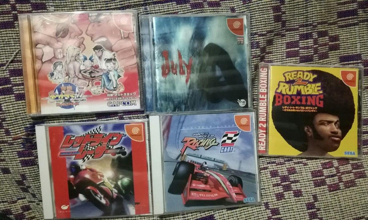 Juegos Sega Dreamcast Lote S 90 00 En Mercado Libre