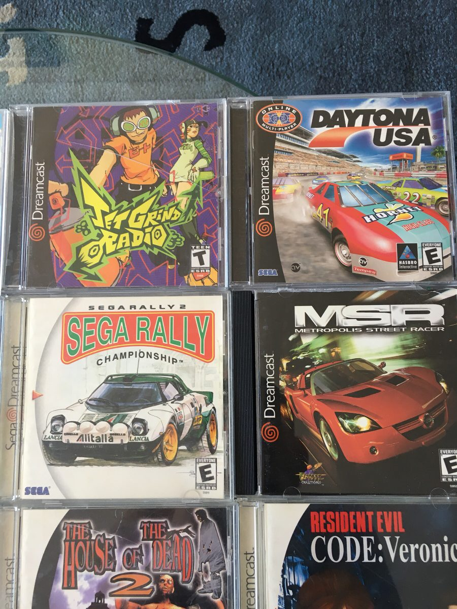 Coleccion De Juegos Originales Sega Dreamcast Todo El Set