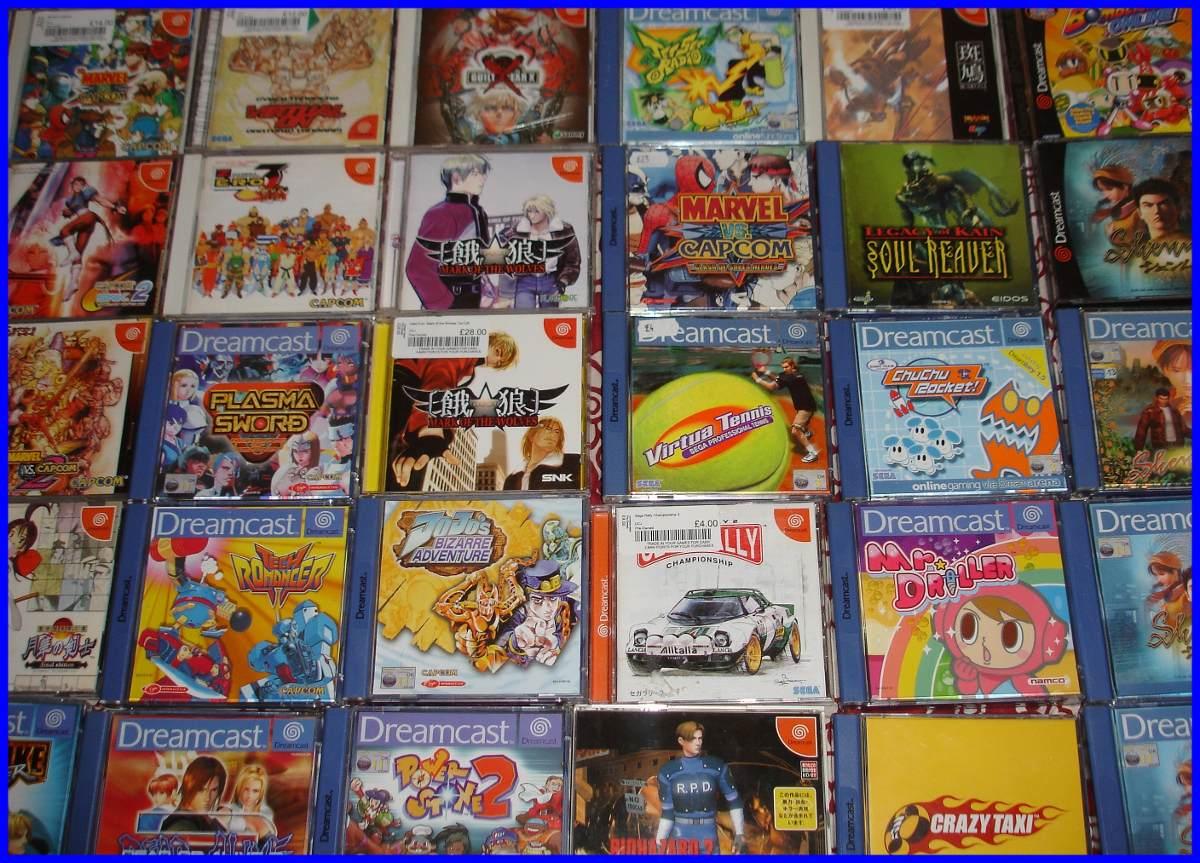 Juegos Sega Dreamcast Pasta Importada Excelencia 100 Bs 30 00