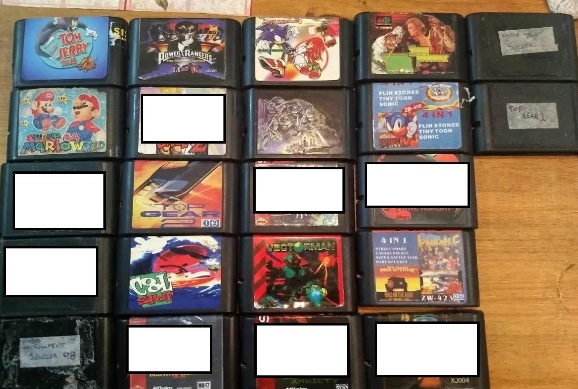 Juegos Cartuchos Sega Genesis Mega Drive 150 00 En Mercado Libre