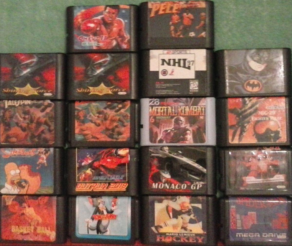 Cartuchos Juegos Sega Mega Drive 16 Bits Leer Descripcion 90 00