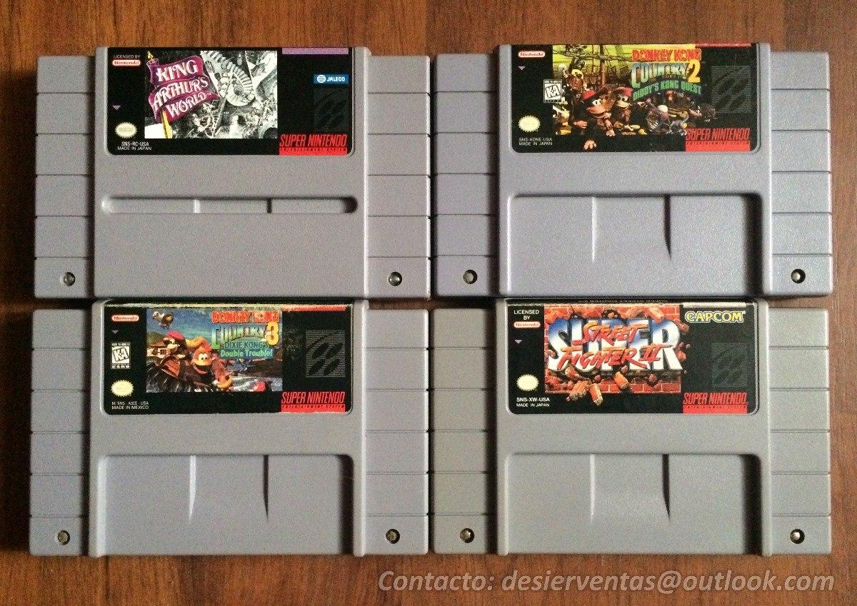 Juegos Super Nintendo Snes Y Accesorios Super Nes 40 000 En
