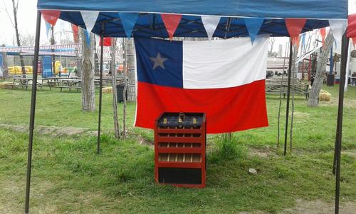 juegos típicos chilenos  martillos de fuerza feria americana