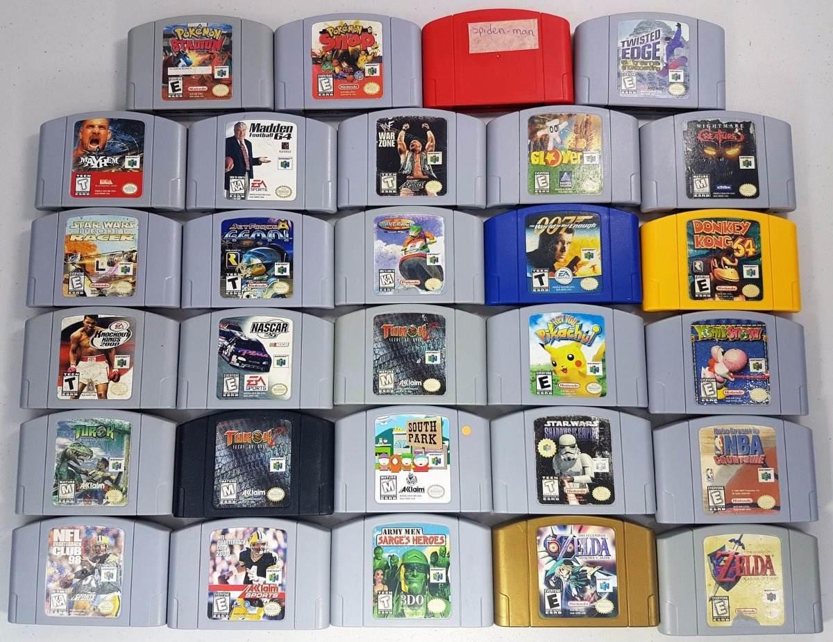 Juegos Usados Nintendo 64 Desde 6 Mil Game Sport Chile 6 000