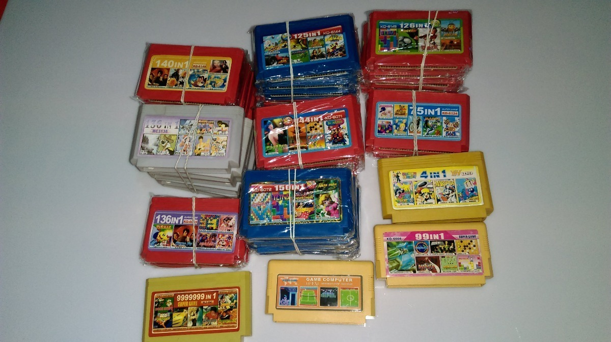Juegos Varios Family Game Famicom Polystation Creation 4 000