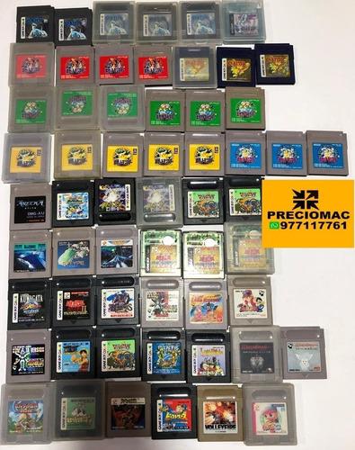 juegos varios gameboy color desde 15 soles - preciomac
