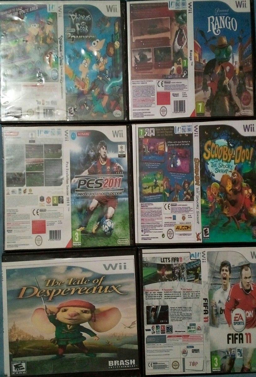 Juegos Wii Chipeados Precio Por Unidad Bs 800 00 En Mercado Libre