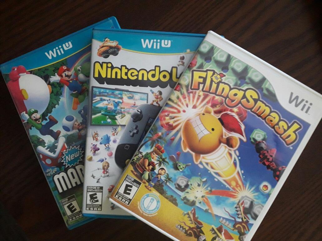 2 Juegos Wii U 1 Juego De Wii Mario Envio Gratis 22 500 En