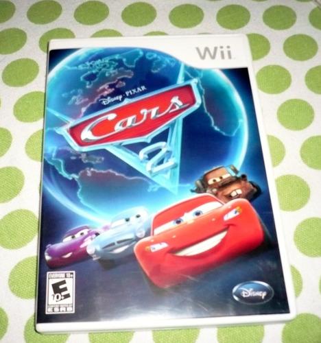 juegos wii o wii u cars 2 original  usado en buen estado