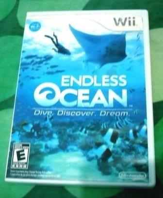 juegos wii original endless ocean
