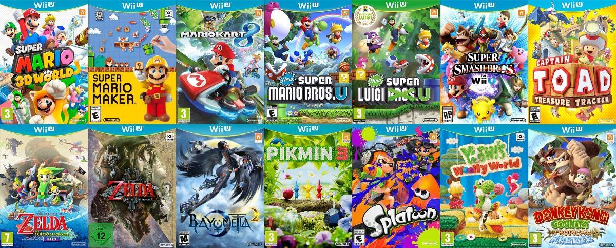 paginas para descargar juegos wii u loadiine