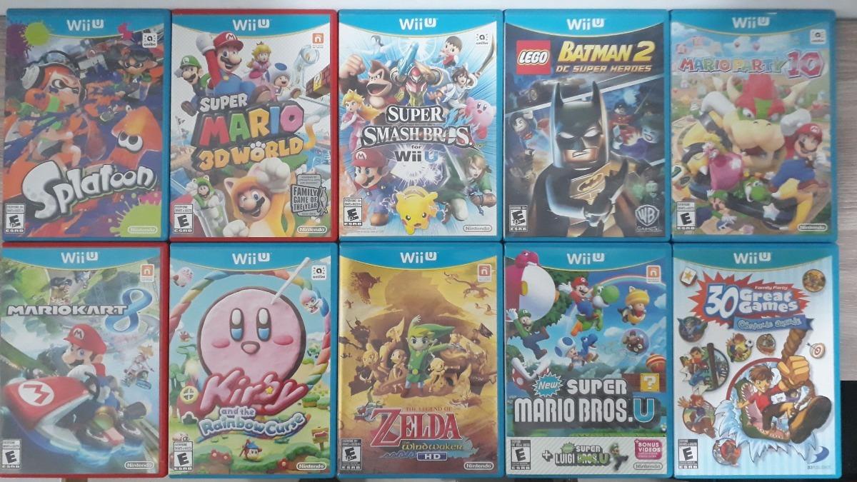 Juegos Wii U Fisicos Originales 49 000 C U 49 000 En Mercado Libre