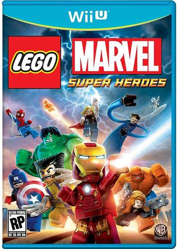 juegos wii u lego marvel super heroes + pack de 135 titulos