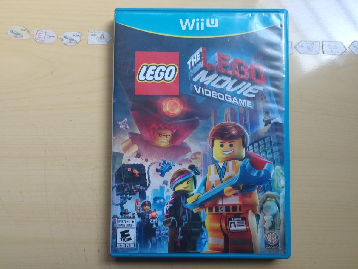 Juegos Wii U Lego The Lego Movie Videogame 259 00 En Mercado Libre