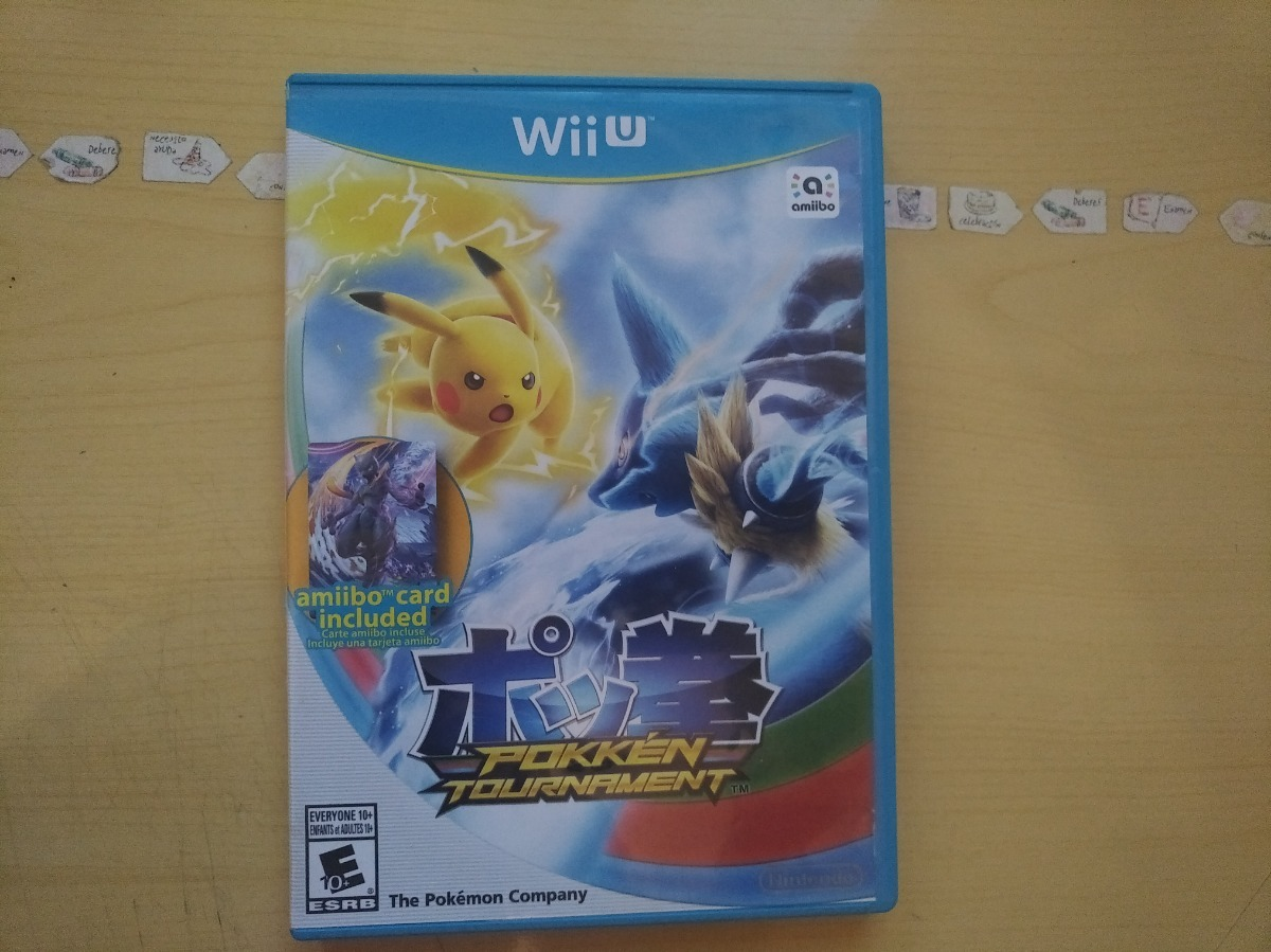 Juegos Wii U Pokemon Pokken Tournament 549 00 En Mercado Libre