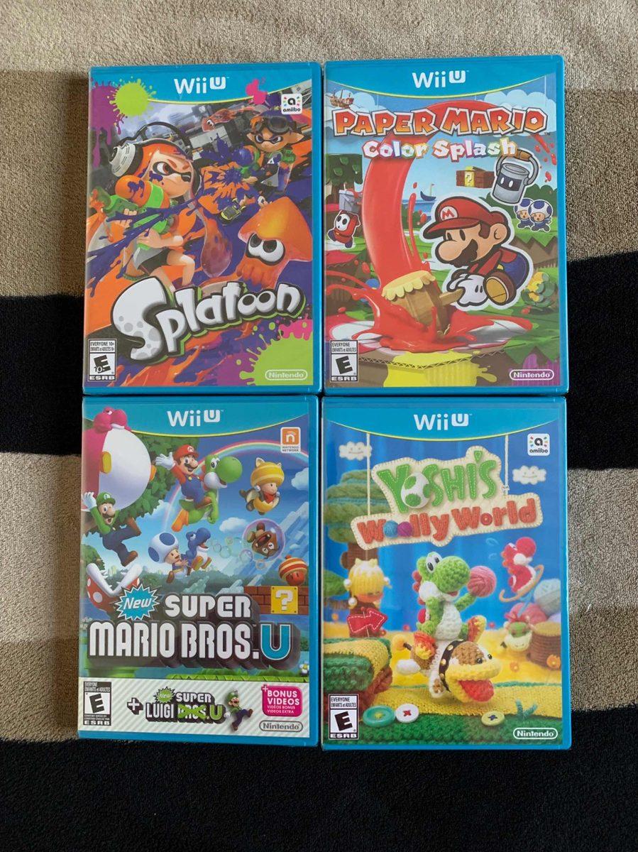 Juegos Wii U Sellados 2 200 00 En Mercado Libre
