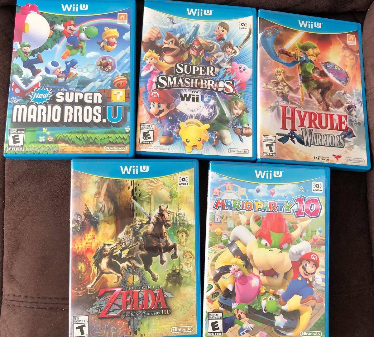 Juegos Wii U Super Smash Bros Mario Zelda 500 C U 500 00 En