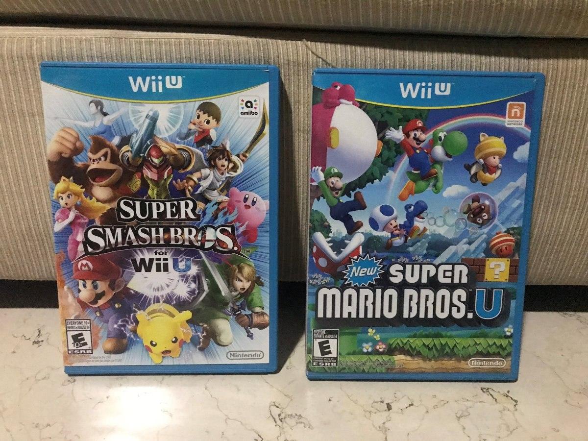 Juegos Wii U Super Smash Bros Super Mario Bros 1 299 00 En