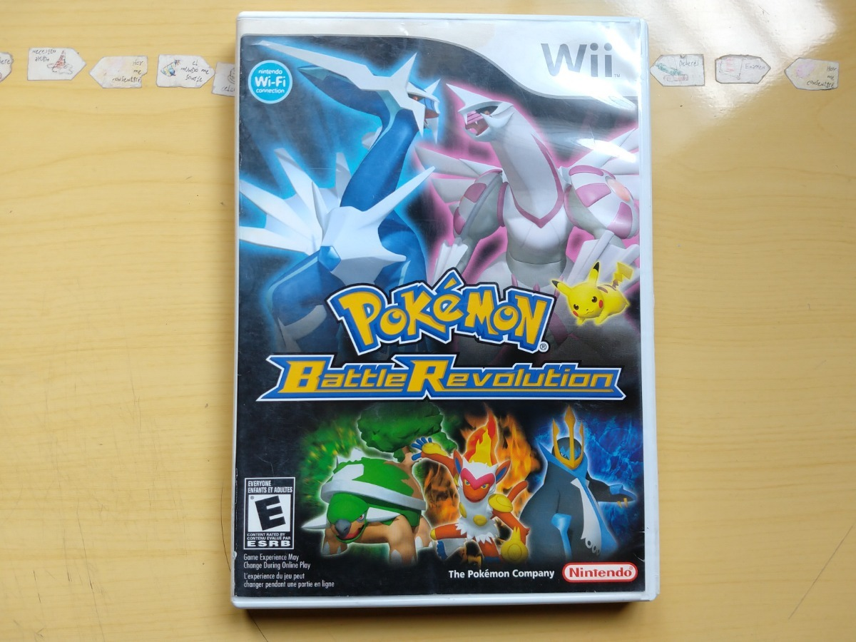 Juegos Wii U Y Wii Pokemon Battle Revolution 449 00 En Mercado Libre