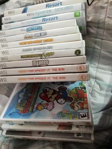 juegos wii usados fisico oferta varios titulos valor c/u