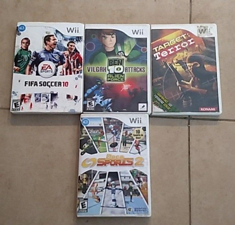 Juegos Wii Varios Titulos 200 00 En Mercado Libre