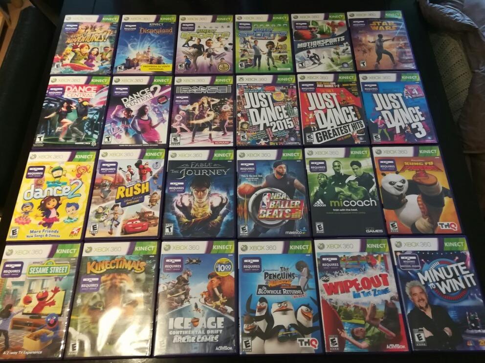 Juegos Para Kinect Xbox 360 Originales 20 00 En Mercado Libre