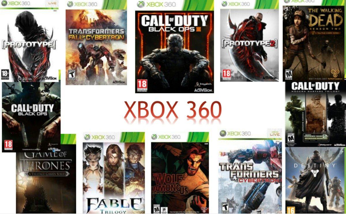 17 Juegos Para Xbox 360 Multiregion Original 745 00 En Mercado Libre