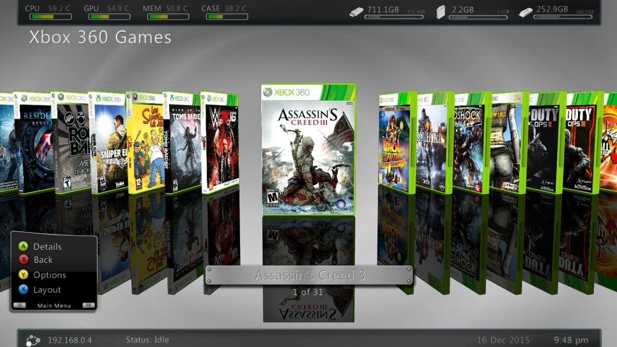 Mas De 120 Juegos Para Xbox 360 Rgh 113 00 En Mercado Libre