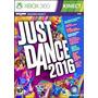 Juegos Xbox 360 Just Dance 2016 Nuevo Original Y Sellado!
