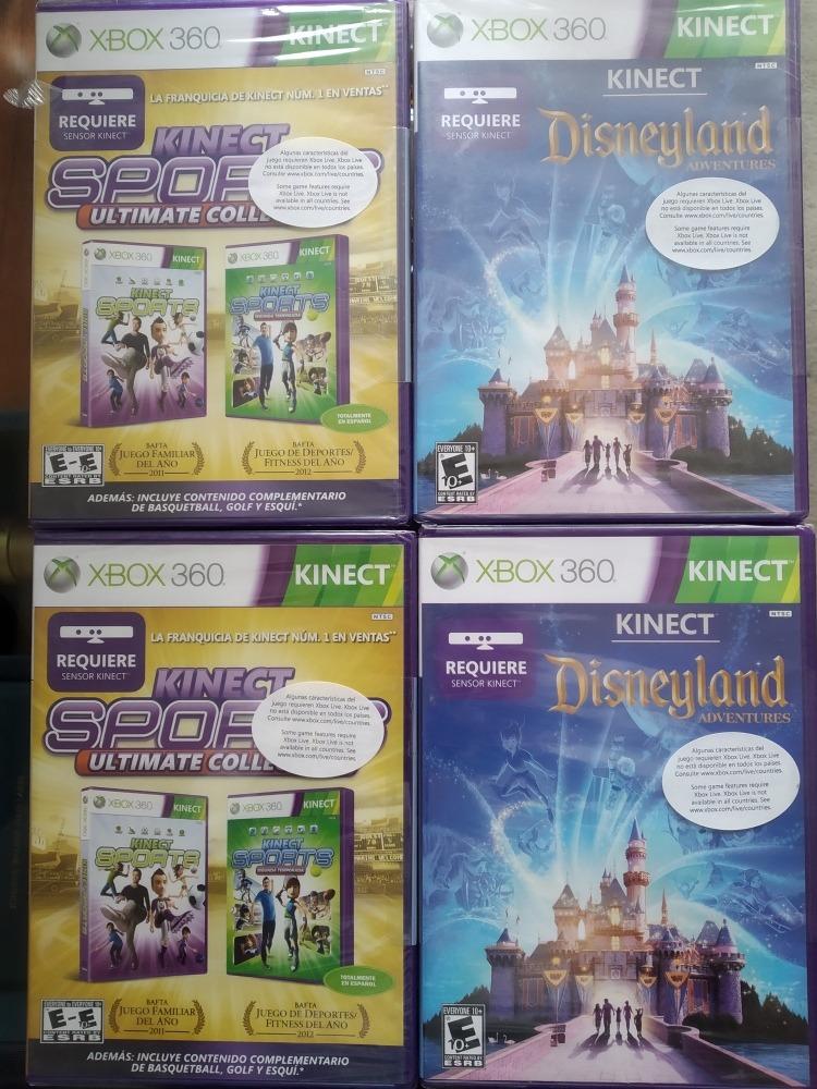 Juegos Xbox 360 Kinect Nuevos Originales 20 23 U S 23 00 En