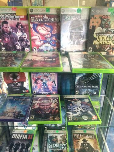 juegos xbox 360 oferta por tiempo limitado liquidación