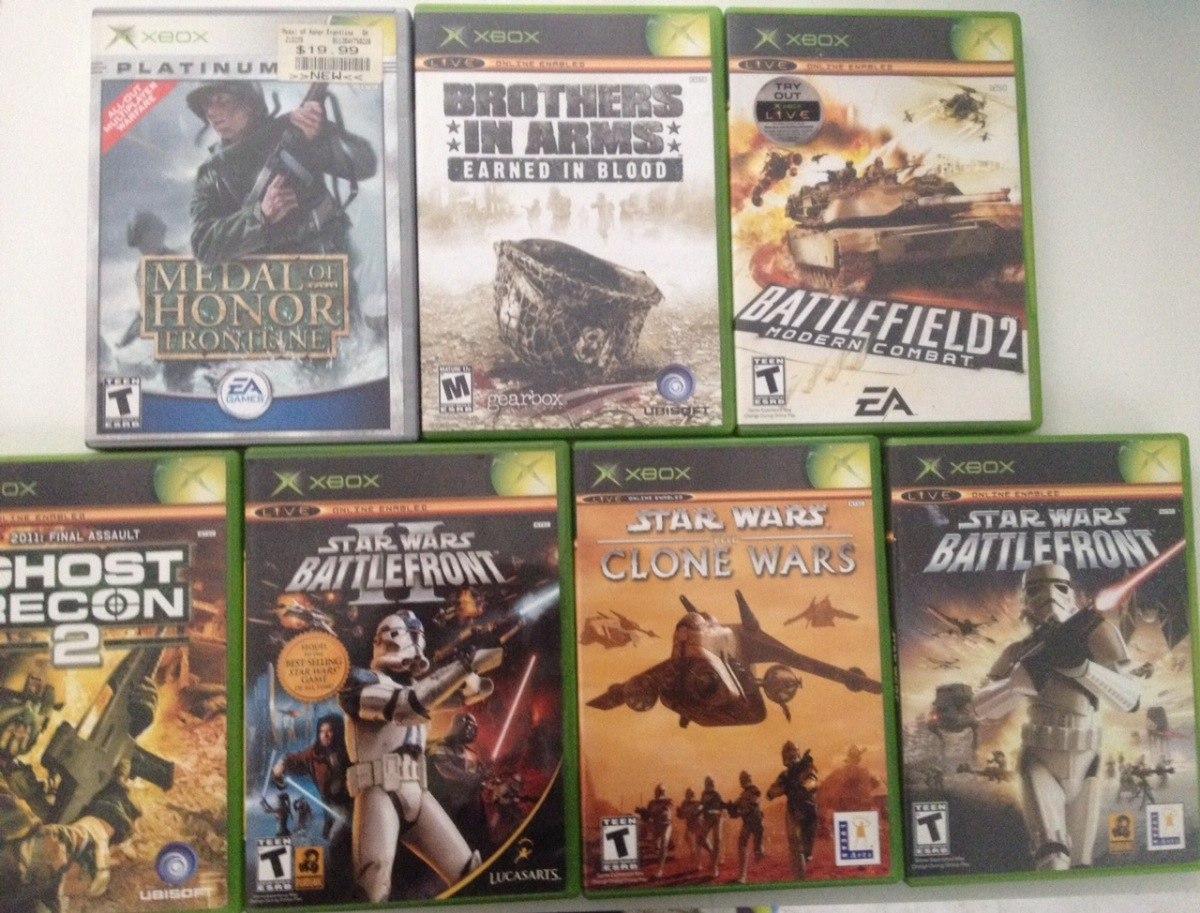 Remato Lote Juegos De Xbox 360 Call Duty 2 & Xbox Stars Wars - $ 3,000.00 en Mercado Libre