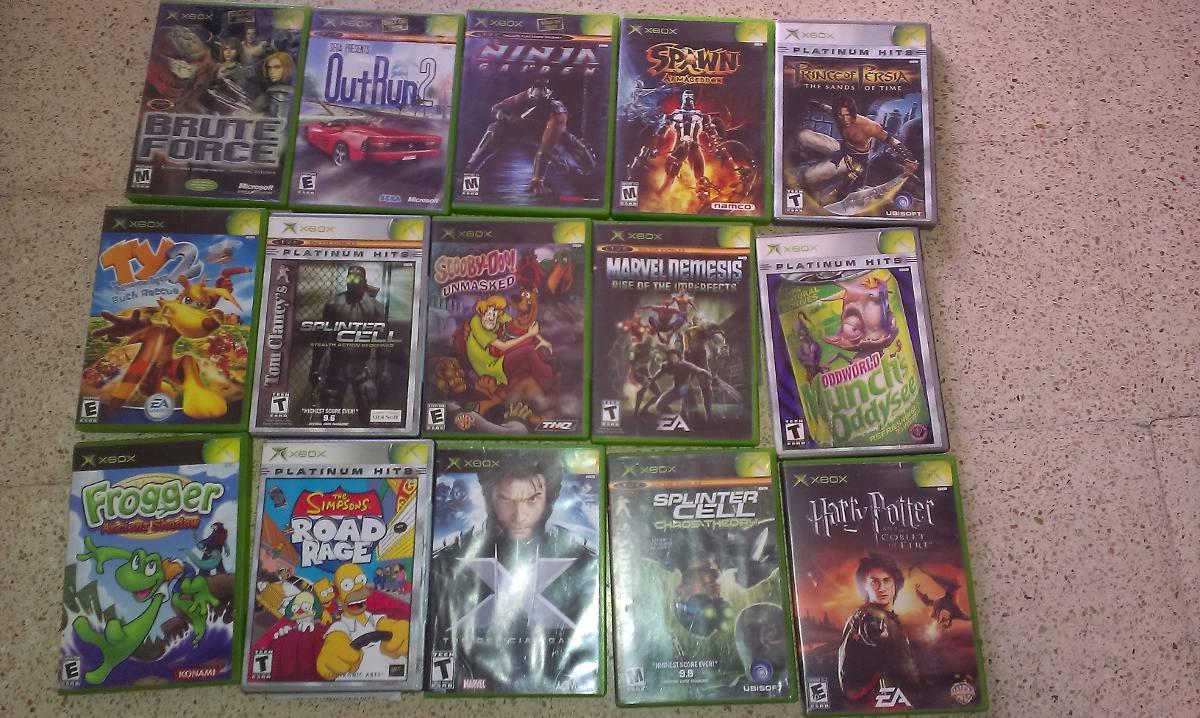 Mega Pack De Juegos De Xbox Clasico Originales Buen Estado