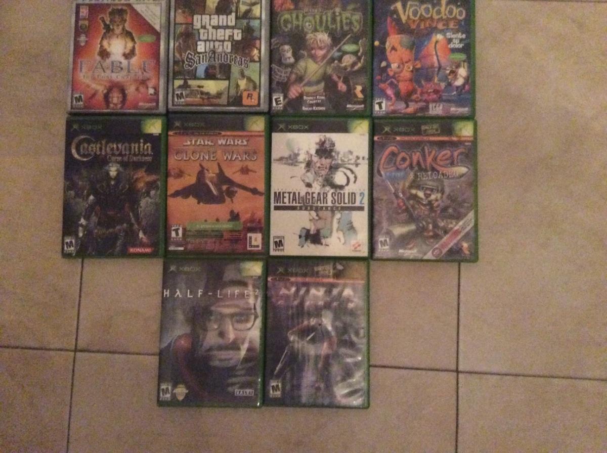 Coleccion De Los Mejores Juegos Para Xbox Clasico 110 00 En