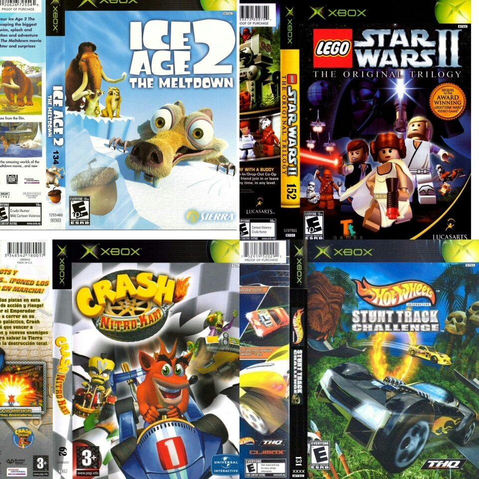 Juegos Xbox De 500 Titulos Dvd Xbox Clasico Bs 695 00 En