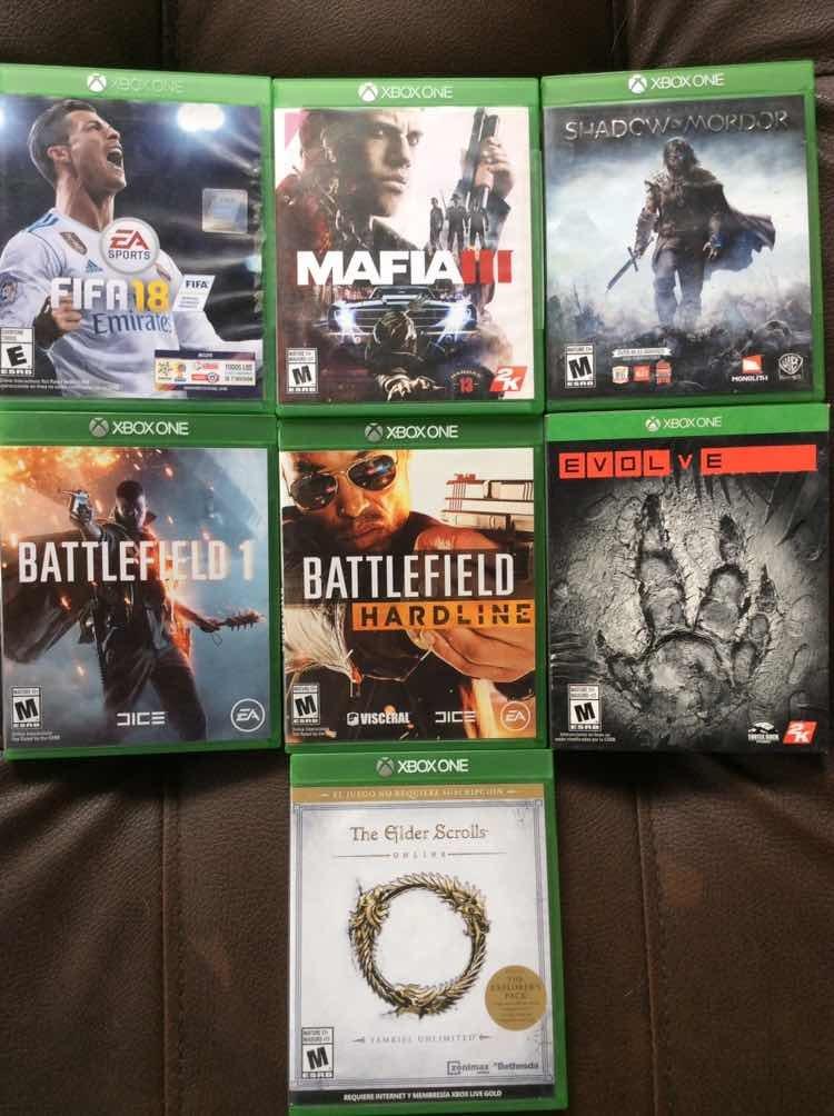 Los Mejores Juegos Y Baratos Para Xbox One 60 000 En Mercado Libre