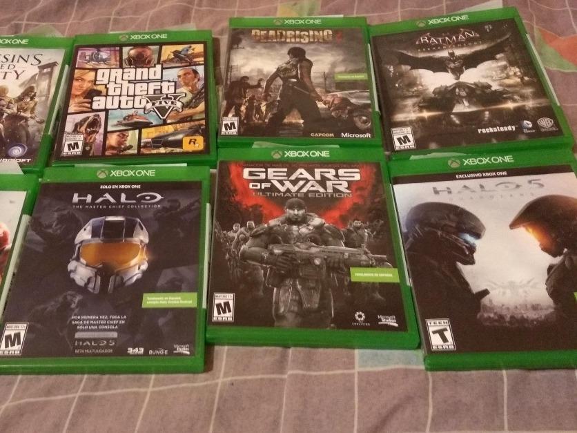 Juegos De Xbox One Promocion Barato 6 Juegos 1 999 00 En Mercado