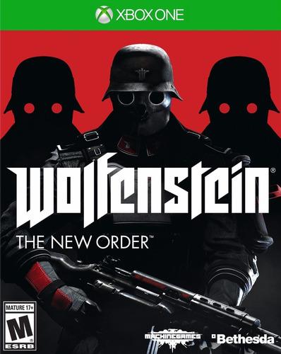 juegos xbox one originales - wolfenstein, the new order