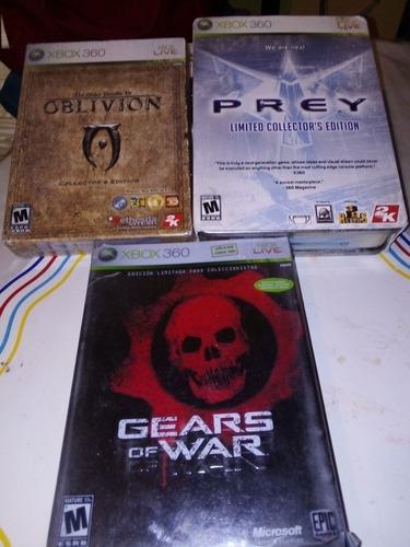 juegos xbox360 colección seminuevos y enpacados