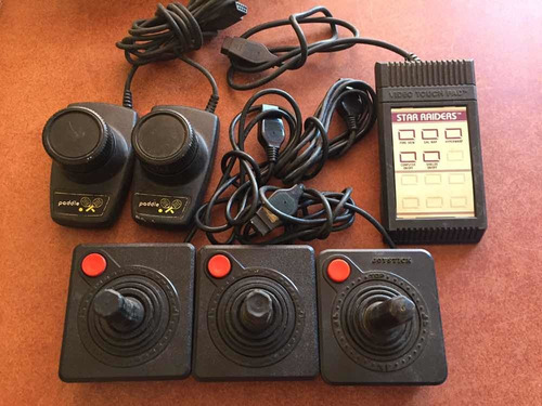 juegos y controles atari 2600