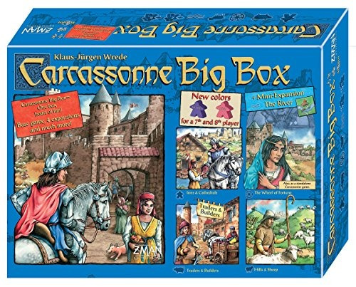 juegos z-man - carcassonne big box 5