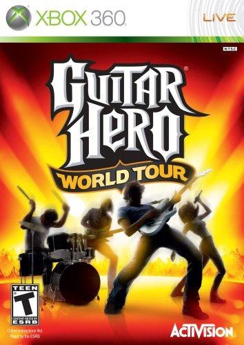 juegos,guitar hero world tour - xbox 360 (sólo juego)..